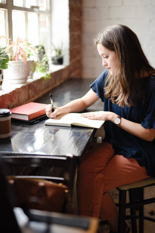 FInd a good space to write your book