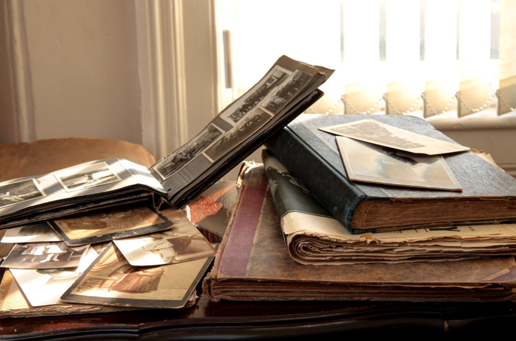 Collect a lot of information when you write your family history