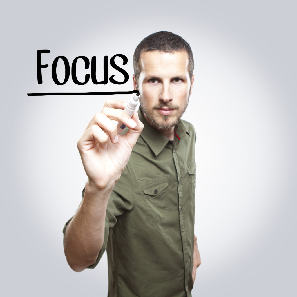 Determine the focus of your business book