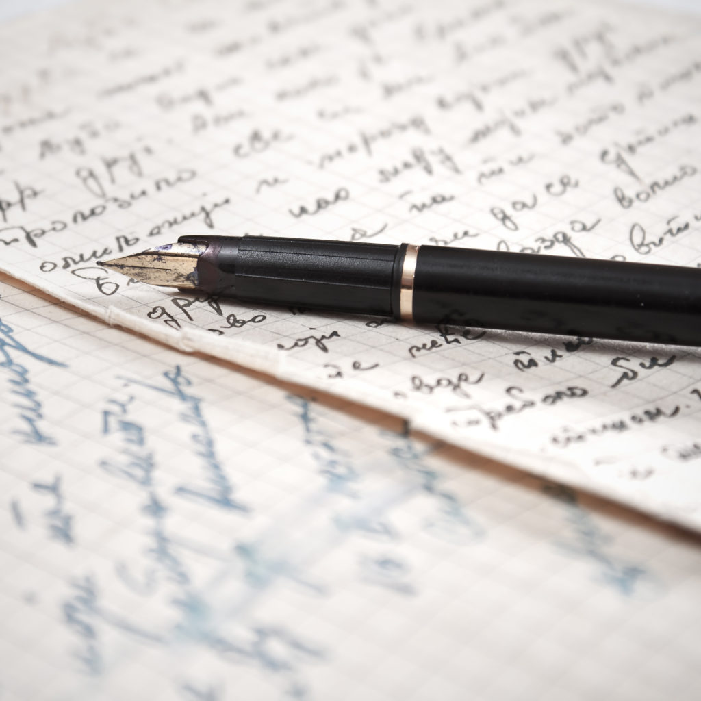 writing a letter to a friend can help fight writer's block