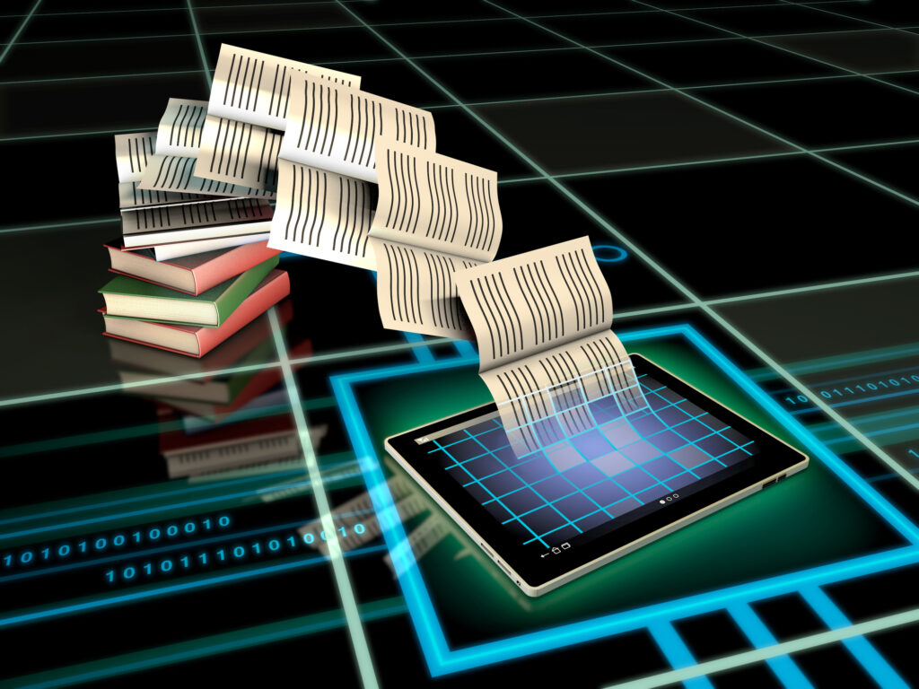 Self-publishing authors can download their manuscripts easily